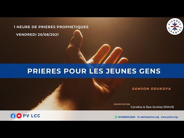 PRIERES POUR LES JEUNES GENS - 2