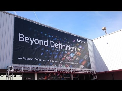 Sony NAB Live Day 1, Afternoon Session:...