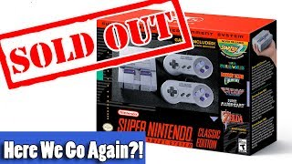 Nintendo Doesn't Care if You Can't Buy the SNES Classic - SNES Mini