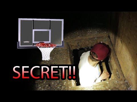 Secret Basketball Court Found In Abandoned Barn