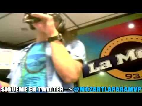 Mozart La Para entrevista Completa en emisora de Colombia donde tira un freestyle durisimo