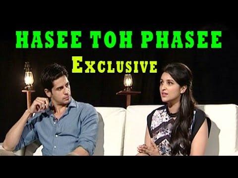 Hasee Toh Phasee | Parineeti Chopra & Sidharth Malhotra Exclusive Interview