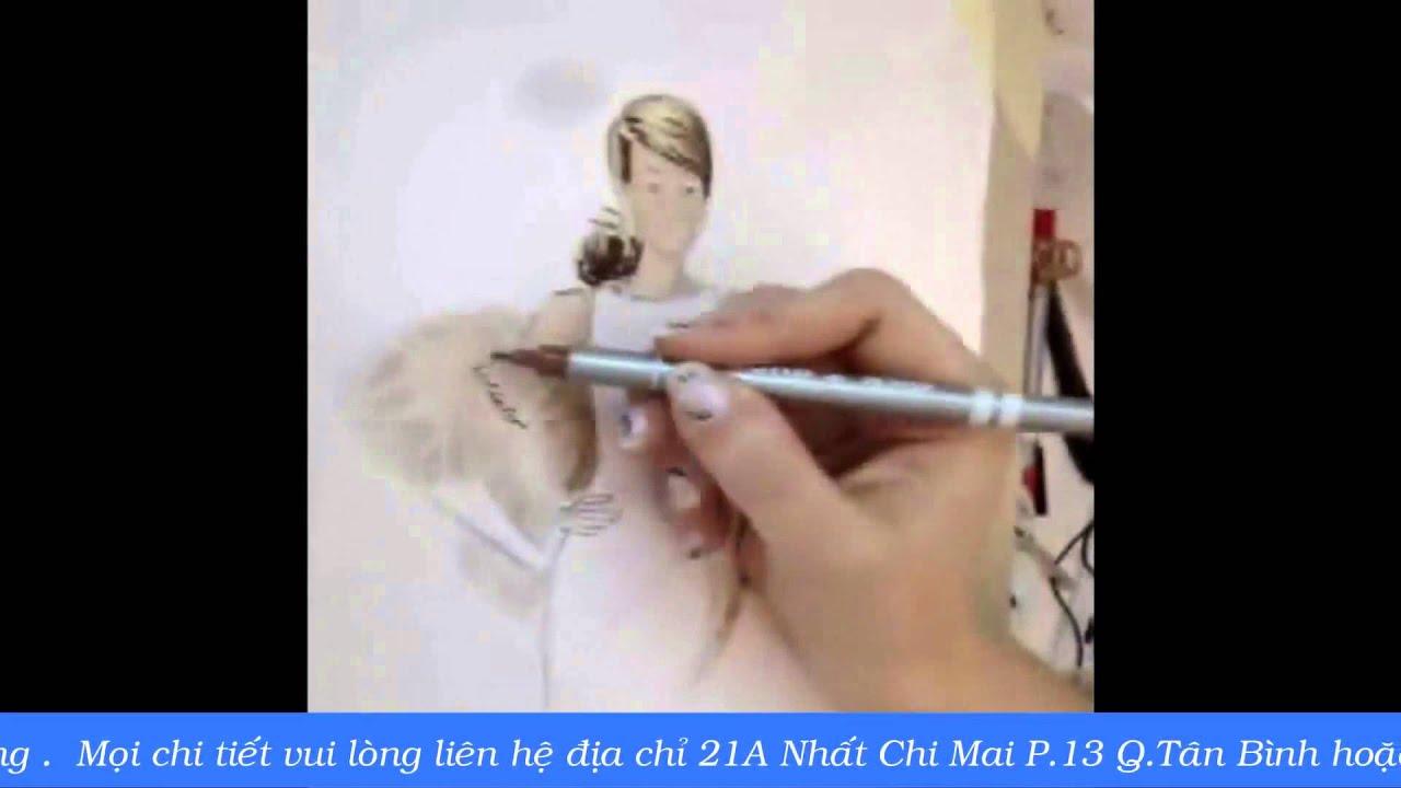 Môn vẽ mẫu phác thảo thời trang