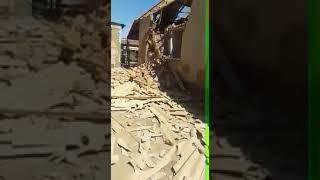 Житель Арыси за ночь разрушил свой дом - 2