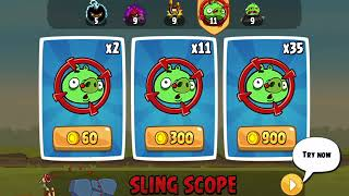 Angry birds classic HD part 2 power-up levels