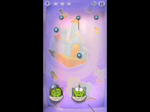 Cut The Rope Time Travel Level 1-8 Walkthrough | The Middle Ages Level 1-8 Walkthrough