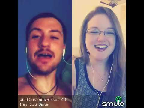 Hey Soul Sister - Train - Cover by JustCristiano & skett416