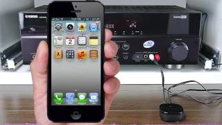 How to STREAM Music iPhone to Stereo using BLUETOOTH|