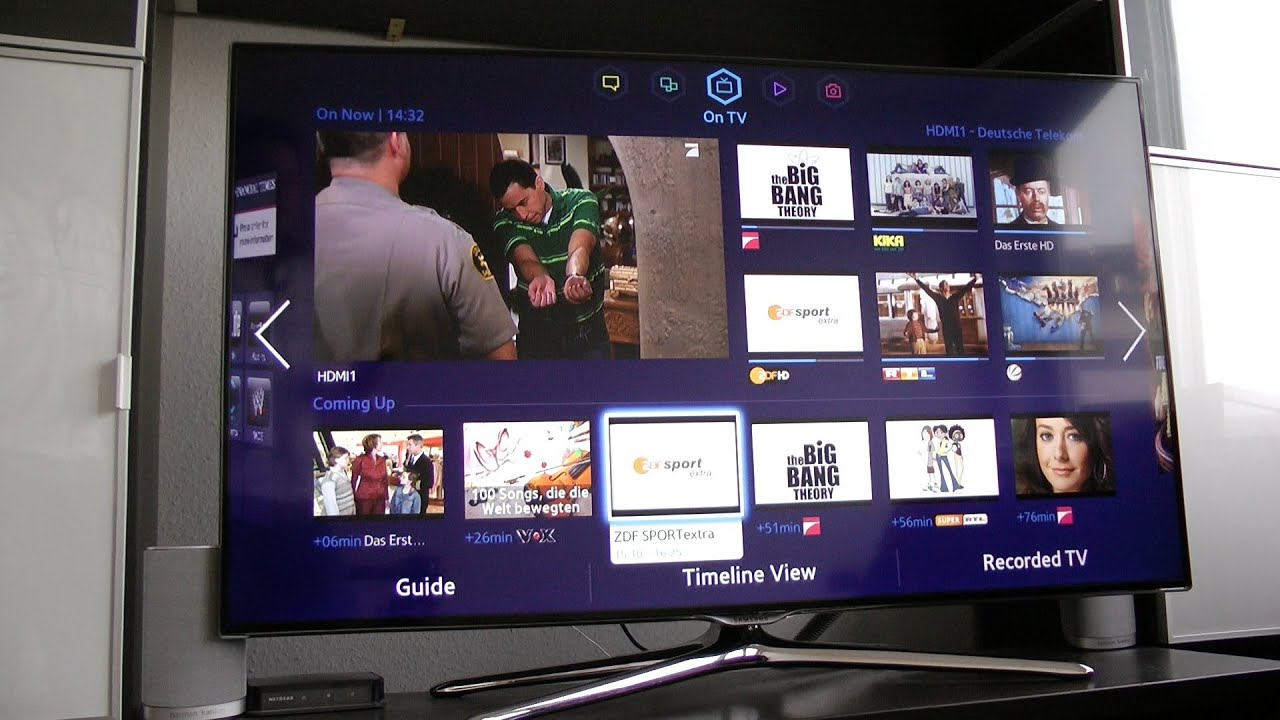 Samsung Ue46f6500 Led Smart Tv Review F6500 Series Youtube