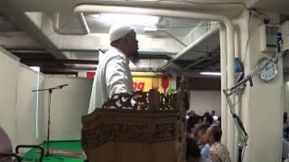 Khotbah Jumat Masjid Landmark Ust Dzikrulloh Azra 06 Juni 2014