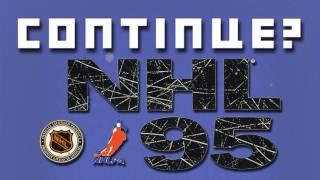 NHL 95 (SNES) - Continue?