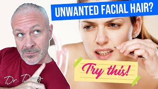 How to Remove Facial Hair Permanently and Naturally!