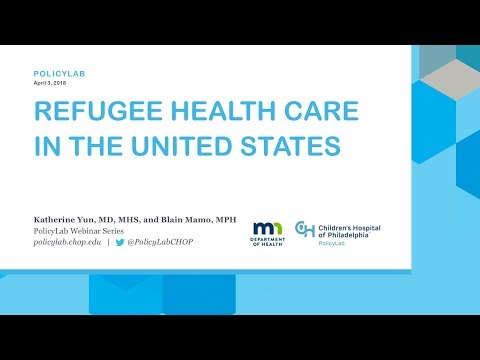 Refugee Health Care in the United States