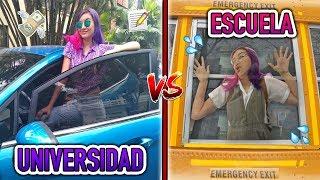 ¡ESCUELA vs UNIVERSIDAD! - Lulu99