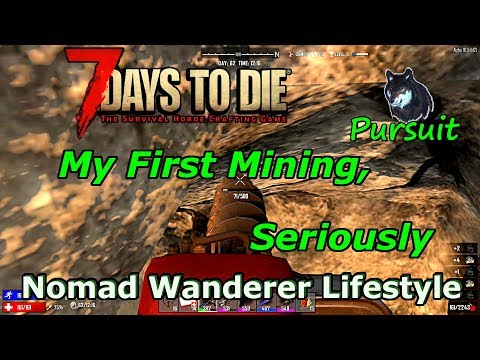 My First Mining, Seriously | 7 Days To Die A16 NWL