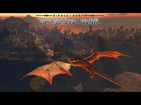 Middle Earth: Shadow of War - Gorgoroth Machine Citadel Gameplay @ 1080p  ✔