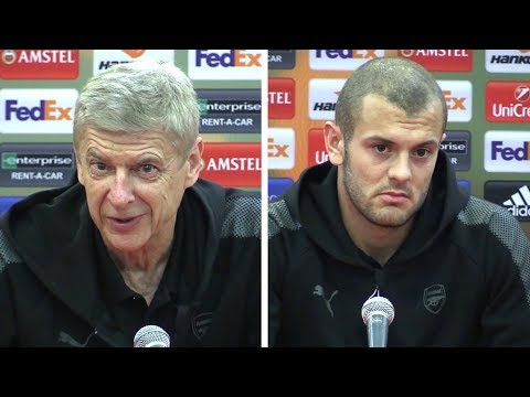 Arsene Wenger & Jack Wilshere Full Pre-Match Press Conference - Red Star Belgrade v Arsenal
