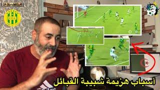 أسباب هزيمة شبيبة القبائل JSK رغم السيطرة/ شبيبة القبائل 1-2 الرجاء