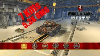 T49 Mastery 5.3K DMG 7Kills   World of Tanks Blitz   TheWrathian