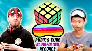Top 10 Rubik's Cube Blindfolded Speedcubers 2016