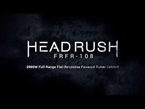HeadRush FRFR-108  | 2000 WATT Full Range-Flat Response Powered Guitar Cabinet