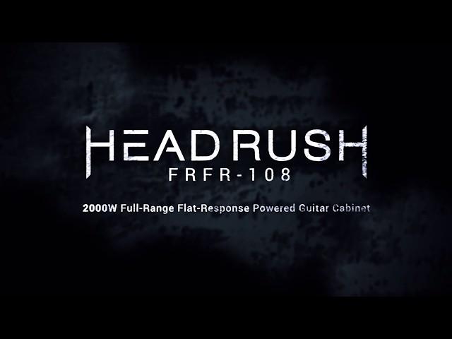 NAMM 2019: HeadRush Announces New FRFR-108 Powered Cabinet | Guitarworld