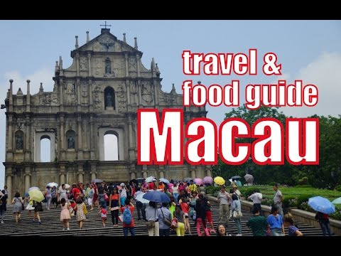 Things to do in Macau Travel Guide & Macanese Street Food