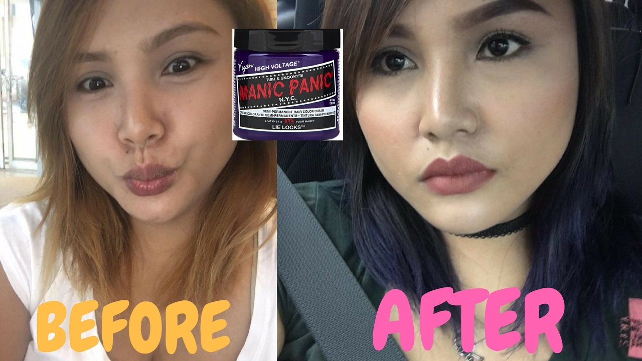 Manic Panic Lie Locks On Dark Hair | www.pixshark.com ...