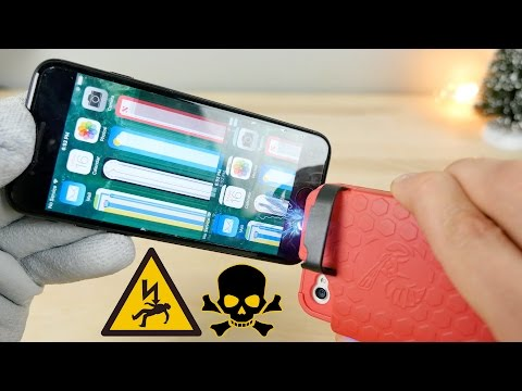 Tasing an iPhone 7 with an iPhone Taser Case