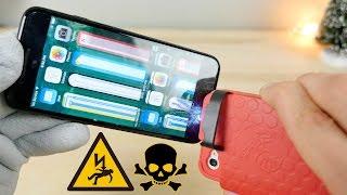Shocking an iPhone 7 with an iPhone Stun Gun Case