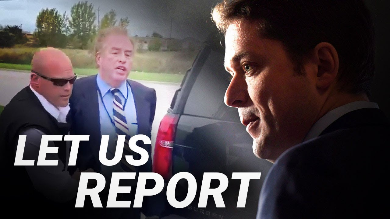 SHOCK: Andrew Scheer has Rebel News reporter David Menzies arrested at campaign event | Ezra Levant