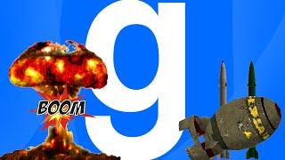 Обзор аддонов Gmod - Ядерный взрыв [Оружие]  (#3)