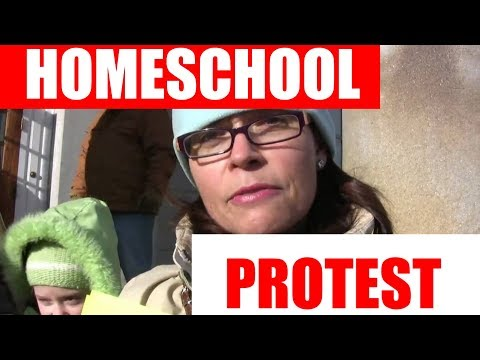 NH Home Schoolers PROTEST! UNPRECEDENTED! bill to restrict home education
