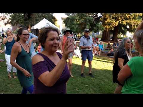 Pascuala Ilabaca y Fauna at the Chico World Music Festival (Outdoor)