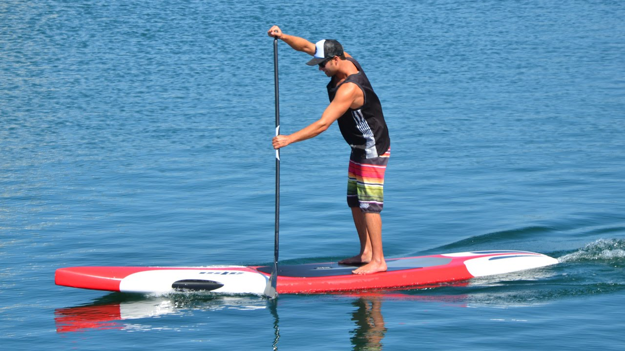 Isle Racing Stand Up Paddle Board Review Youtube