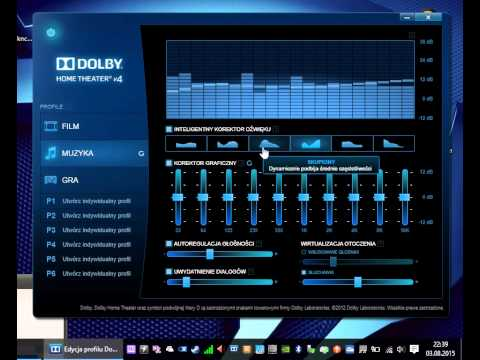 How to install dolby digital/home theater v4 [latest] in windows.