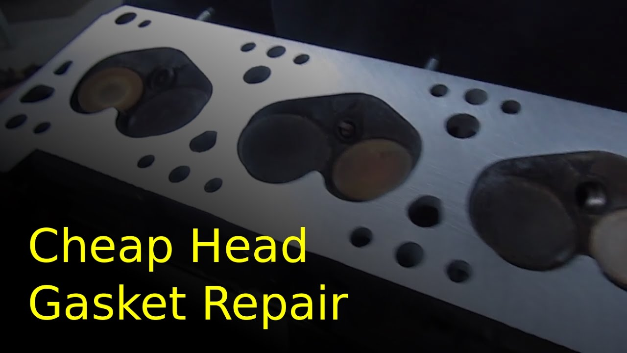 Cylinder Head Resurfacing : Resurface a warped cylinder head with low cost sandpaper