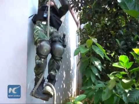 China, Vietnam hold joint anti-terrorism drill