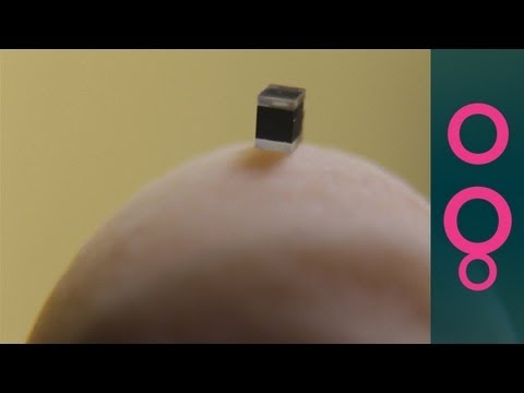 World's smallest atomic clock!