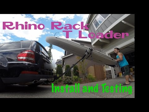 Rhino Rack T Loader - Install and testing