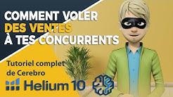 🧠 HELIUM 10 : COMMENT VOLER LES MEILLEURS MOTS CLÉS DE TES CONCURRENTS ?