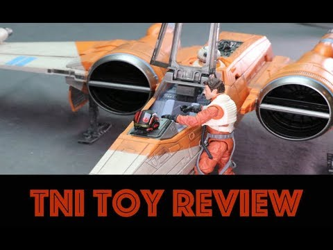Star Wars The Rise Of Skywalker Vintage Collection Poe Dameron S X Wing Review Youtube