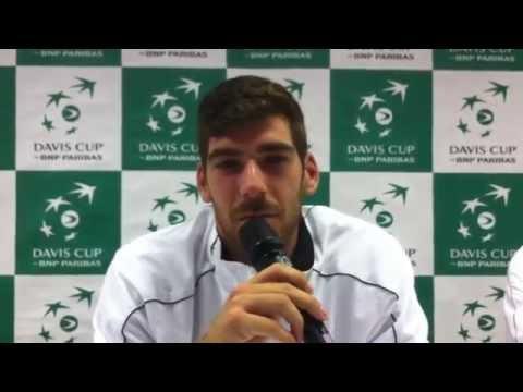 Davis Cup Slowakei - Österreich, 3. Tag: Interview mit Gerald Melzer, Teil 1