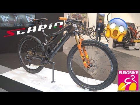 New SCAPIN Bikes 2020 (E-BONE, M29, T29) - Eurobike 2019 [4K]