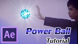 After Effect Tutorial- How to create Power Ball