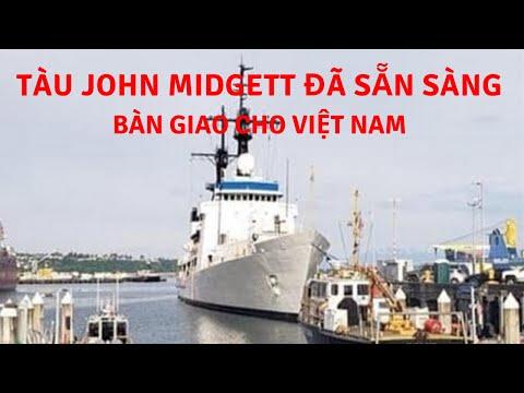Tàu tuần duyên USCGC John Midgett tháo radar, vũ khí... sẵn sàng về Việt Nam | Tin Quân Sự