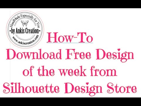 How-To Download A Free Design From Silhouette Design Store