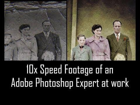 Photo Retouching & Hand-Tinting - Adobe Photoshop