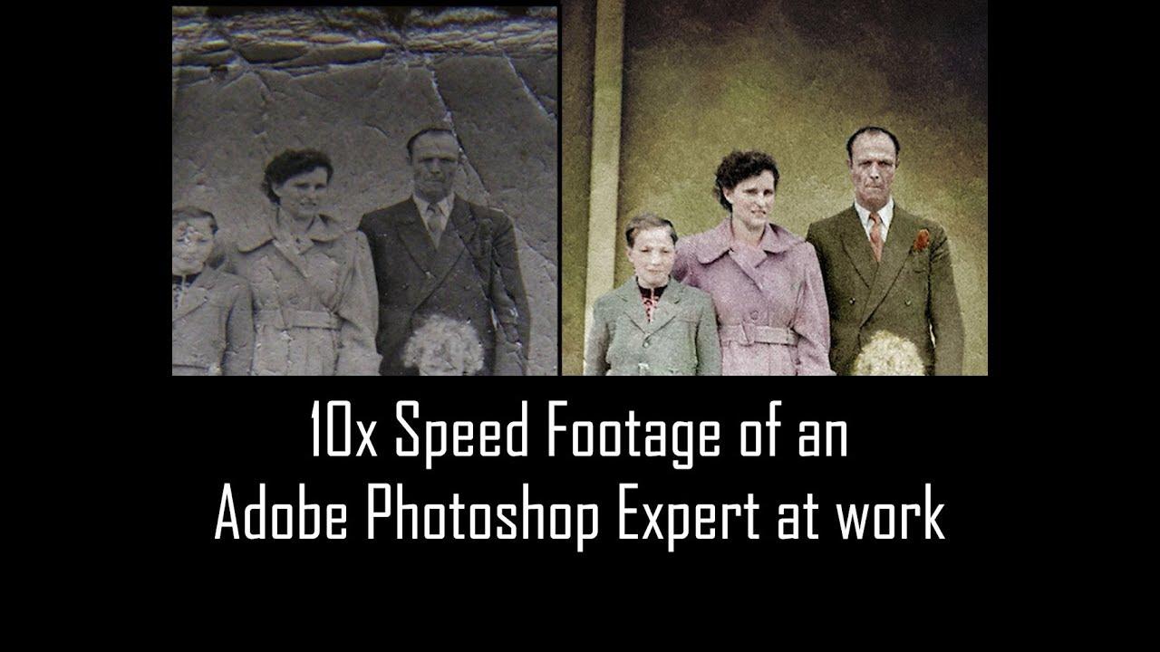 Photo Retouching Hand Tinting Adobe Photoshop