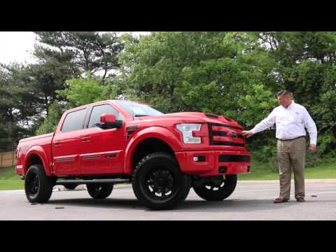2015 F150 FTX Race Red Black Out Package Fully Loaded